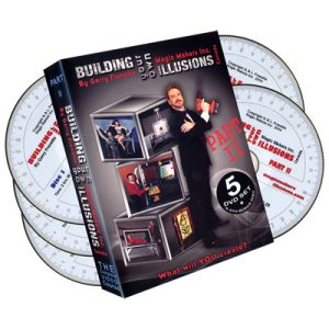 Building Your Own Illusions Part 2 The Complete Video Course (6 DVD set) by Gerry Frenette - DVD