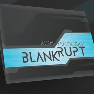 Blankrupt Thin Strip Americas and Canada Version (Gimmicks and Online Instructions) by Josh Janousky - Trick