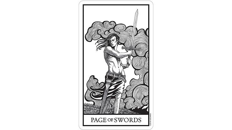 Bianco Nero (Black and White) Tarot Cards
