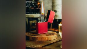 Limited Edition Light It Up Scarlet Shine Edition (Gimmicks, Remote and Online Instructions) by SansMinds - Trick
