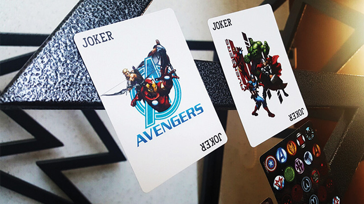 Marvel Avengers Playing Cards