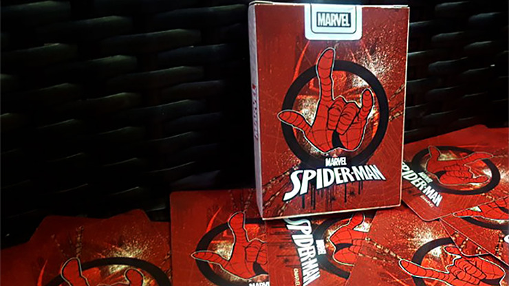 Avengers Spider-Man V1 Playing Cards