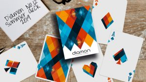 Diamon Playing Cards N° 12 Summer 2019 Playing Cards by Dutch Card House Company