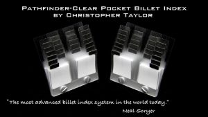 The Path-Finder Clear Pocket Index Single (Gimmick and Online Instructions) by Christopher Taylor - Trick