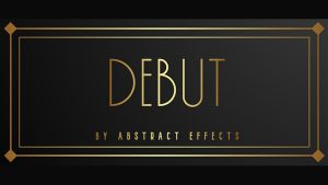 Debut (Gimmicks and Online Instructions) by Abstract Effects - Trick