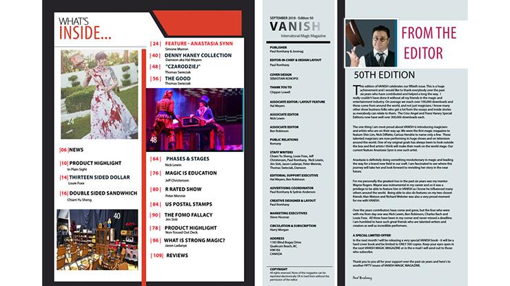 Vanish Magazine #50 ebook