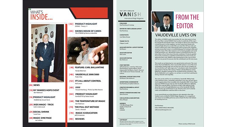 Vanish Magazine #60 eBook