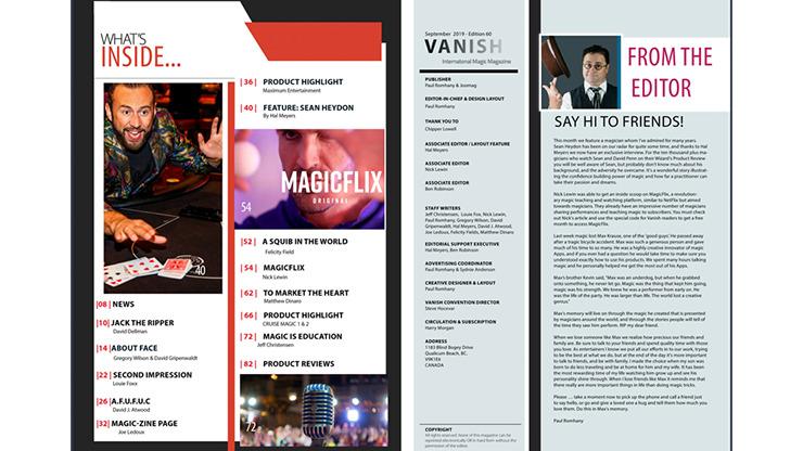Vanish Magazine #62 eBook