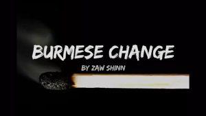 Mario Tarasini presents Burmese Change by Zaw Shinn video
