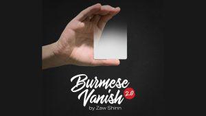 Mario Tarasini presents: Burmese Vanish 2.0 by Zaw Shinn