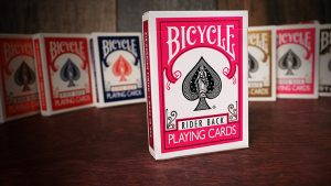 Bicycle Fuchsia Playing Cards by US Playing Card Co