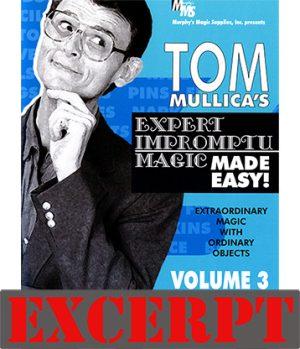 Stern Paper Fold video DOWNLOAD (Excerpt of Mullica Expert Impromptu Magic Made Easy Tom Mullica- #3, DVD)
