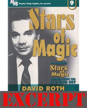 Tuning Fork video DOWNLOAD (Excerpt of Stars Of Magic #9 (David Roth))
