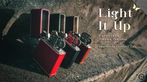 Limited Edition Light It Up Vigor Maroon by SansMinds
