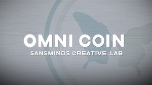 Limited Edition Omni Coin UK version ( by SansMinds Creative Lab