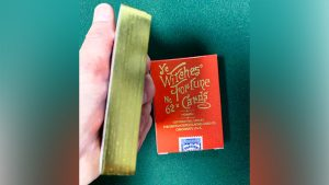 Limited Edition Ye Witches' Gold Gilded Fortune Cards (1 Way Back)(RED BOX)