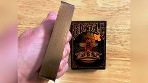 Gilded Bicycle Beekeeper Playing Cards (Dark)
