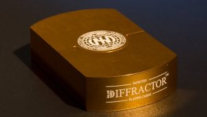 Vegas Diffractor Gold (Metal) Playing Cards