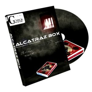 Alcatraz Box (RED Gimmick and DVD) by Mickael Chatelain - DVD