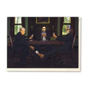 Miller & Vernon Cheating Houdini Greeting Card