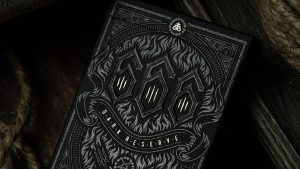 666 Dark Reserves (Silver Foil) Playing Cards