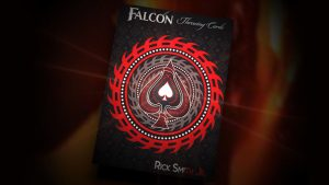 Falcon Razors Throwing Cards by Rick Smith Jr. and De'vo