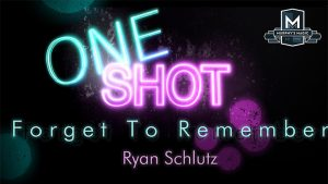 MMS ONE SHOT - Forget to Remember by Ryan Schlutz video DOWNLOAD - Download