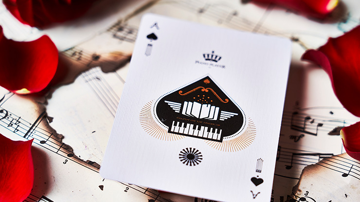 Piano Player Three-Key Edition Playing Cards by Bocopo