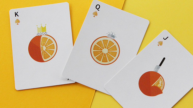 CITRUS Playing Cards by FLAMINKO Playing Cards