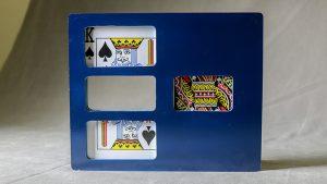 Zig Zag Card (Jumbo/Plastic) by Mr. Magic