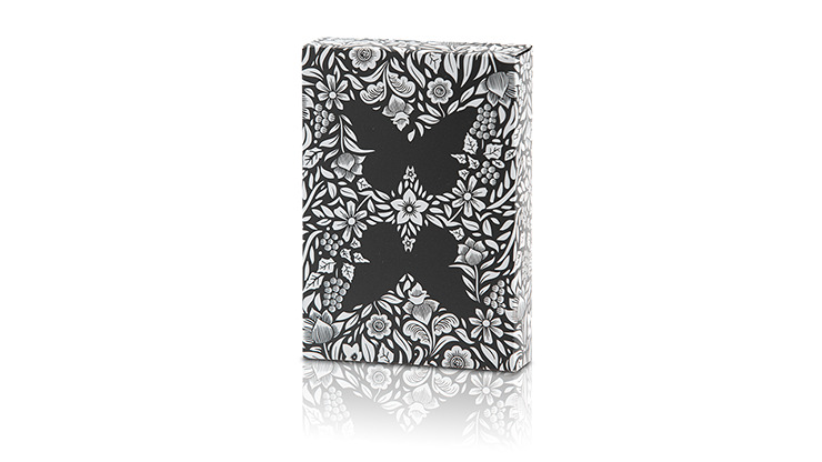 Limited Edition Butterfly Playing Cards Marked (Black and White) by Ondrej Psenicka