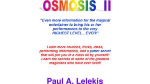 OSMOSIS II - Paul A. Lelekis Mixed Media DOWNLOAD - Download