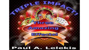 TRIPLE IMPACT by Paul A. Lelekis Mixed Media DOWNLOAD - Download
