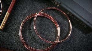 "4"" Linking Rings (Rose) by TCC"