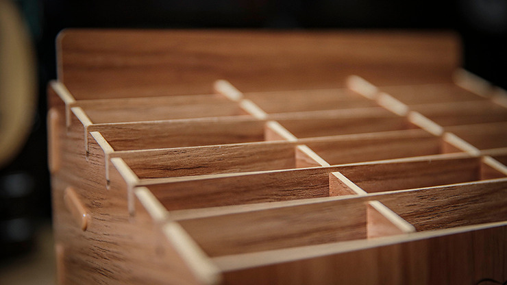 Wooden (Small- 18 Decks) Playing Card Display by TCC