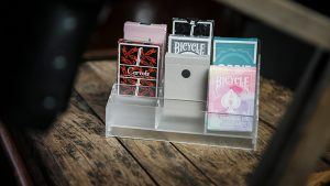 Acrylic (Small - 18 Decks) Playing Card Display by TCC