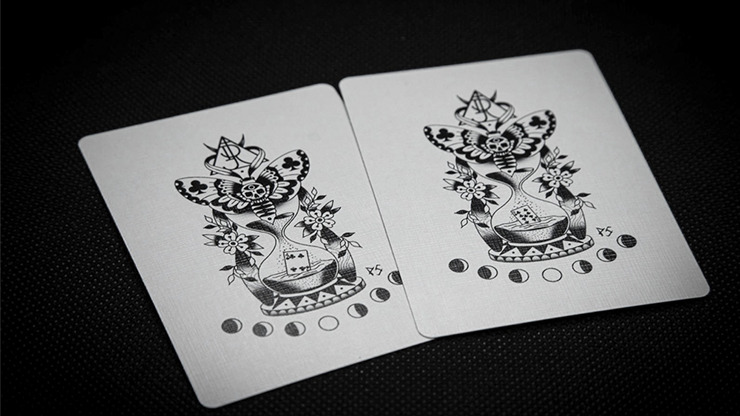 Warrior (Midnight Edition) Playing Cards by RJ
