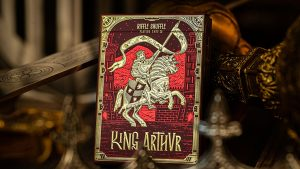 King Arthur (Carmine Cavalier) Playing Cards by Riffle Shuffle