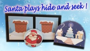 SANTA PLAYS HIDE AND SEEK (PROFESSIONAL MODEL) by Magie Climax