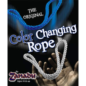 Amazing Color Changing Rope (White to Blue or Yellow) by Zanadu