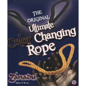 Amazing Color Changing Rope (Black to Yellow) by Zanadu