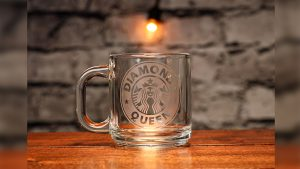 Engraved (Starbucks QD Gimmick and Online Instructions) by James Kellogg