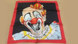 """Rice Picture Silk 18"""" (Circus Clown) by Silk King Studios"""