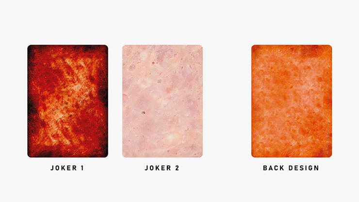 The Sandwich Series (Luncheon Meat) Playing Cards
