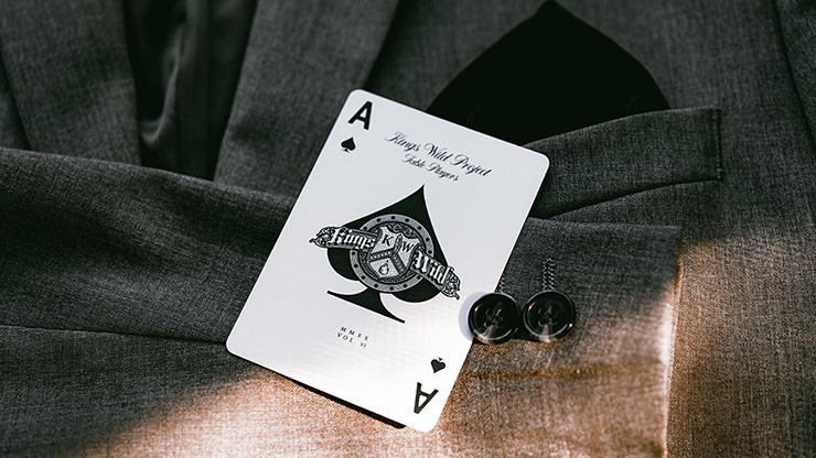 No.13 Table Players Vol.6 Playing Cards by Kings Wild Project