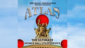 Atlas Kit Red (Gimmick and Online Instructions) by RPR Magic Innovations