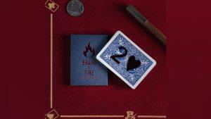 BRAND OF FIRE / BLUE by Federico Poeymiro