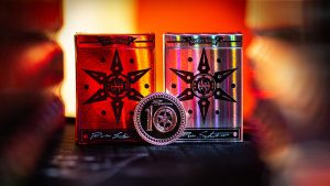 Limited 10th Anniversary Edition Blade Set Playing Cards by Handlordz