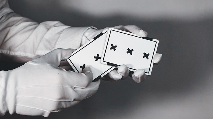 X Deck (White) Signature Edition Playing Cards by Alex Pandrea