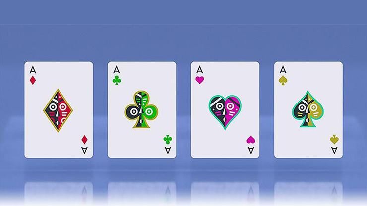 Tiki Playing Cards